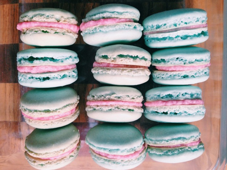 French Macarons – Honey and the Baker